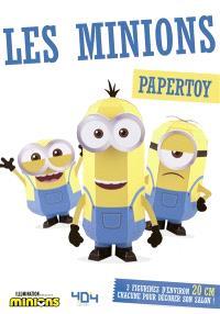 Les Minions : papertoy