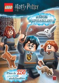 Lego Harry Potter : scènes d'autocollants : plus de 250 autocollants réutilisables
