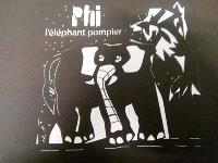 Phi, l'éléphant pompier : version kamishibaï