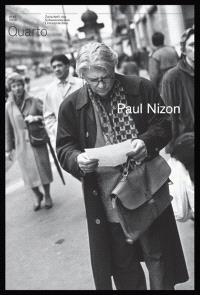 Quarto, revue des archives littéraires suisses. n° 47, Paul Nizon
