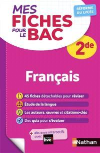 Français 2de : réforme du lycée