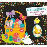 Chasse aux oeufs de Pâques : cartes à gratter