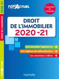 Droit de l'immobilier : 2020-2021