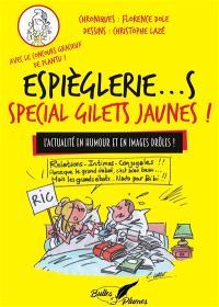 Espièglerie...s spécial gilets jaunes ! : l'actualité en humour et en images drôles !