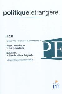 Politique étrangère. n° 1 (2010)
