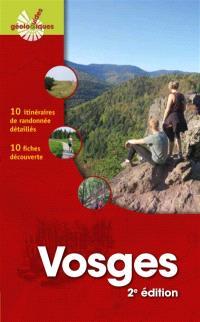Vosges : 10 itinéraires de randonnée détaillés : 10 fiches découverte