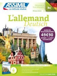 L'allemand : débutants & faux-débutants, niveau atteint B2