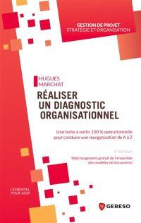 Réaliser un diagnostic organisationnel : une boîte à outils 100 % opérationnelle pour conduire une réorganisation de A à Z