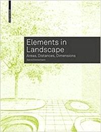 Elements in Landscape: Areas, Distances, Dimensions