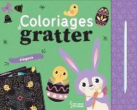 Coloriages à gratter : Pâques