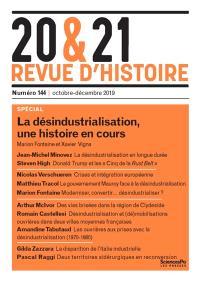 20 & 21 : revue d'histoire. n° 146, A l'intersection des dominations
