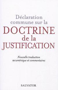 Déclaration commune sur la doctrine de la justification