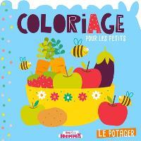 Le potager : coloriage pour les petits