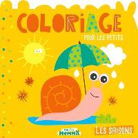 Les saisons : coloriage pour les petits