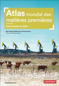 Atlas mondial des matières premières : incertitudes et défis