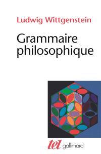 Grammaire philosophique