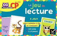 Le jeu de lecture : CP, 6-7 ans : 5 jeux pour s'entraîner à lire en s'amusant !