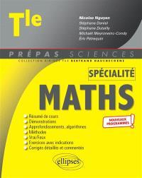 Mathématiques terminale spécialité : nouveaux programmes
