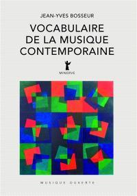 Vocabulaire de la musique contemporaine