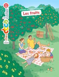 Les fruits : autocollants