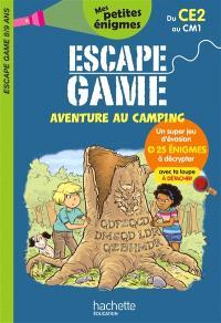 Aventure au camping : escape game 8-9 ans, du CE2 au CM1