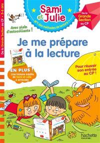 Je me prépare à la lecture : de la grande section au CP, 5-6 ans