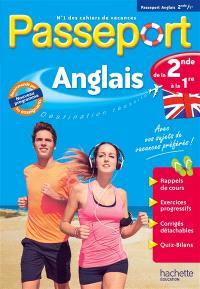 Passeport anglais, de la 2de à la 1re