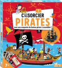 C'est pas sorcier ! : pirates : avec une maquette de bateau pirate à assembler !