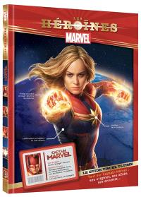 Captain Marvel : le guide visuel ultime : tout sur Captain Marvel, ses origines, ses alliés, ses ennemis...