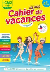 Cahier de vacances du CM2 à la 6e, 10-11 ans : toutes les matières au programme : été 2020
