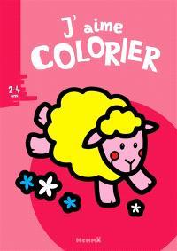 J'aime colorier, 2-4 ans : mouton