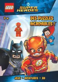 Lego DC comics super heroes, Des puzzles incroyables !