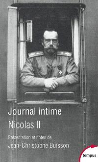 Journal intime : décembre 1916-juillet 1918