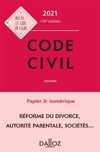 Code Civil les nouveautés