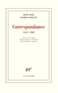 Correspondance : 1943-1988
