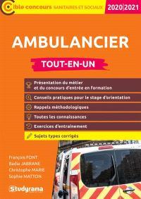 Ambulancier : tout-en-un : concours 2020-2021