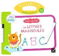 Les lettres majuscules, maternelle, petite section, 3-4 ans : livre ardoise