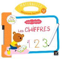 Les chiffres, maternelle, moyenne section, 4-5 ans : livre ardoise