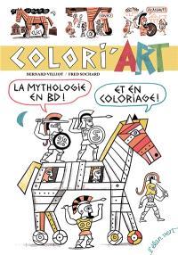 Colori'art : la mythologie en BD ! Et en coloriage !