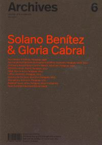 Archives 6: Solano Benitez & Gloria Cabral