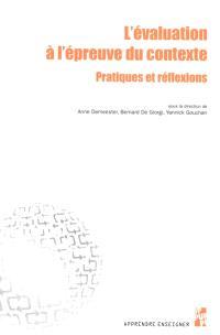 L'évaluation à l'épreuve du contexte : pratiques et réflexions