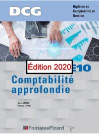 Comptabilité approfondie, UE10 : DCG, diplôme de comptabilité et gestion : conforme au nouveau programme de DCG, BO n° 25 du 27-06-2019