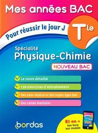 Physique chimie spécialité terminale : nouveau bac