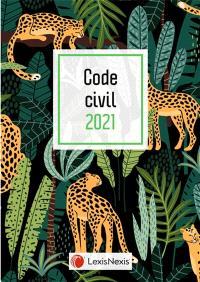 Code civil 2021 : jaquette panthères