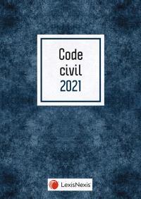 Code civil 2021 : jaquette bleue