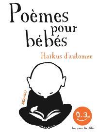 Haïkus d'automne : poèmes pour bébés