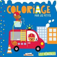 Les véhicules : coloriage pour les petits