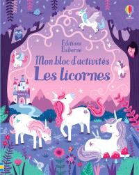 Les licornes : mon bloc d'activités