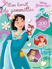 Disney princesses : mon livret de gommettes