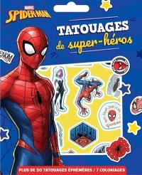 Spider-Man : tatouages de super-héros